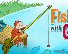 Curious George at Fishing