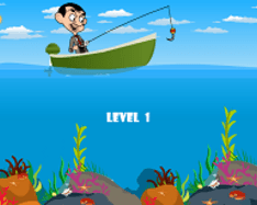 Fishing with Mr.Bean